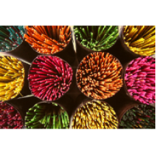 Amber Incense - 20 Sticks Hand Rolled